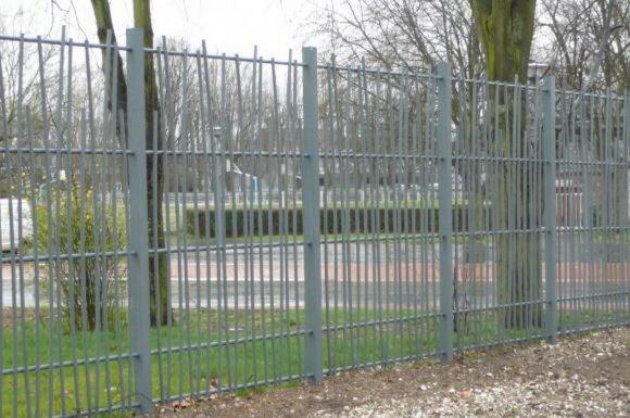 La clôture barreaudée